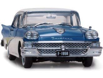 Ford Fairlane 500` Rund um die Welt ` (1958) Druckguss Modell Auto