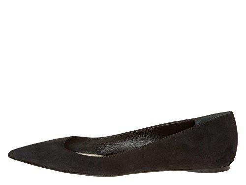 Dior Femmes Ballerines Cuir velours Noir