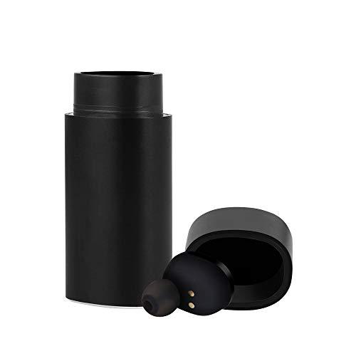 MIFXIN Kabellose Bluetooth-Ohrhörer IP65 Wasserdichte Mini-Kopfhörer, unsichtbar, Geräuschunterdrückung, In-Ear-Kopfhörer mit Ladehülle, Mikrofon zum Duschen Fahren, Laufen, Radfahren (EIN Ohrhörer) - Audio Dock Samsung Wireless