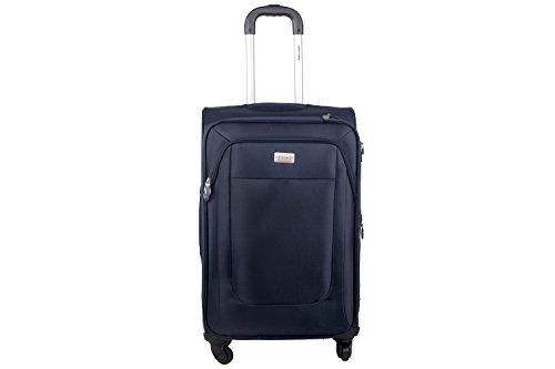 Maleta semirrígida PIERRE CARDIN azul mini equipaje de mano ryanair S282