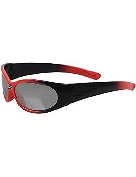 Cool Red & BlackKids Gafas de sol deportivas para niños Protección UV ambiental Marco irrompible para niños Lente...