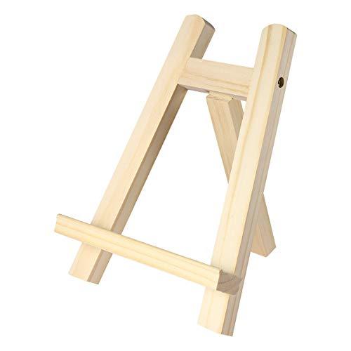 Toyvian Tisch-Kalender/Ständer für den Schreibtisch, aus Holz,