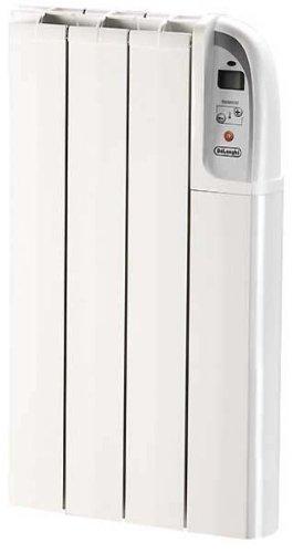 Delonghi HTX0405P – Emisor térmico digital, 500 W, 4 instrumentos, AA, termostato eléctrico digit …
