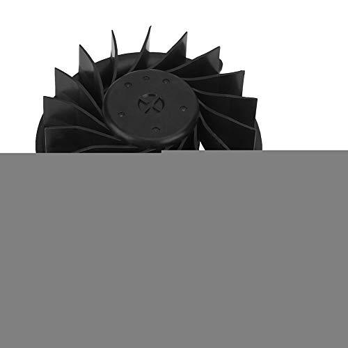Diyeeni Ersatztiel Interne Lüfter für Playstatiion3 Slim, CPU Lüfter Kühler mit 17 Klinge, Langlebige Sichere Interne Cooling Fan für PS3 (Playstation3-fan)