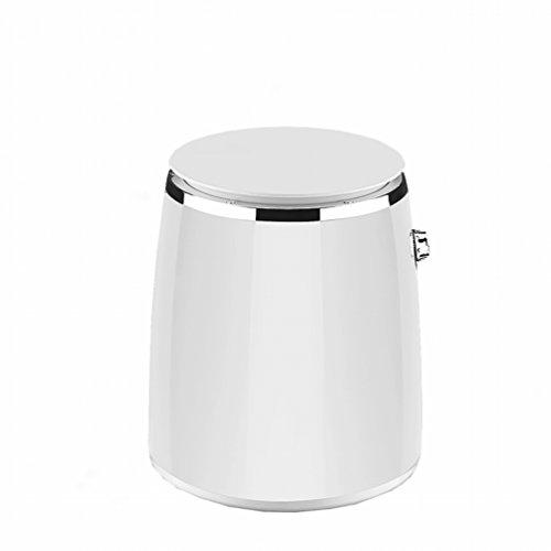 GCCI Mini Waschbecken Kleine Baby Kind Mini Single Flasche Zylinder Leck Leck Trocken,Weiß