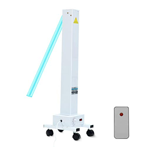 Luz germicida de ozono 360 ° Lámparas de desinfección UV Lámparas germicidas móviles...