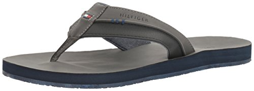 Tommy Hilfiger Davidson Synthétique Tongs Dark Gray