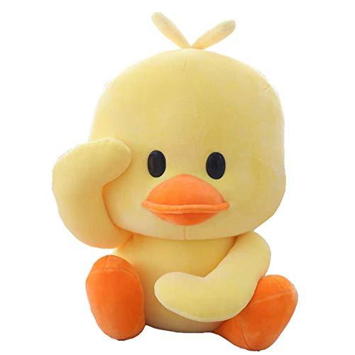 YWT Kleine gelbe Ente Plüsch Stofftier Spielzeug Puppe komfortable weiche süße tanzende Ente Kinder Sofa Dekoration Kissen 11,8 Zoll