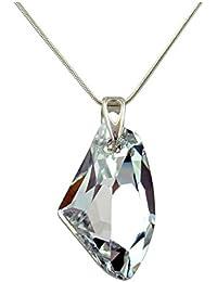 Crystals & Stones *CAL* *GALACTIC* 27 mm Swarovski Elements–Hermoso collar para mujer–colgante con joya, regalo con cristales de Swarovski