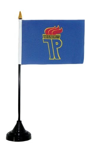 Fahne / Tischflagge DDR Jungpioniere Tischfahne Flagge