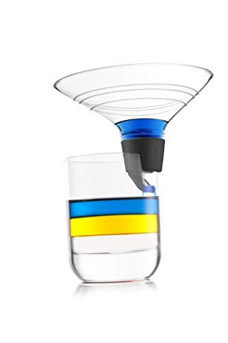 Vacu Vin 7861360 Verseur Multicouche Transparent/Gris 9 x 11 x 7 cm