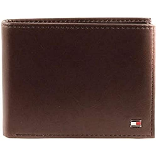 Tommy Hilfiger Eton CC Flap And Coin Pocket, Portafoglio Uomo, Nero, 13x10x2 cm (B x H x T)