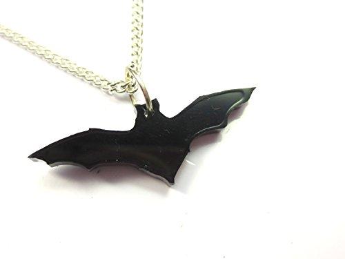 Fledermaus Silhouetten Kette 60 cm Horror - Origami Halloween-fledermaus