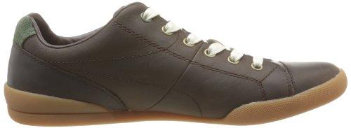Timberland Earthkeepers Split Cup Sole Leather Cap Toe Oxford, Herren Sneaker Braun - Marron (Dark Brown Oiled)