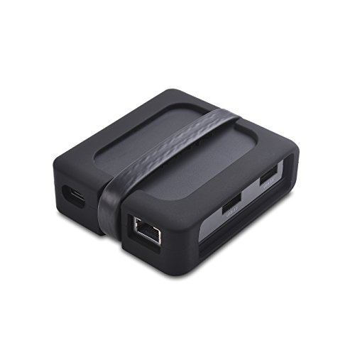 onitor usb c adapter (usb c hub hdmi) mit 2 x 4K HDMI-, 2 x USB 2.0-, Ethernet- und 60W-Aufladung - Thunderbolt 3-Port-kompatibel für Windows, Unterstützung eines externen Displays ()
