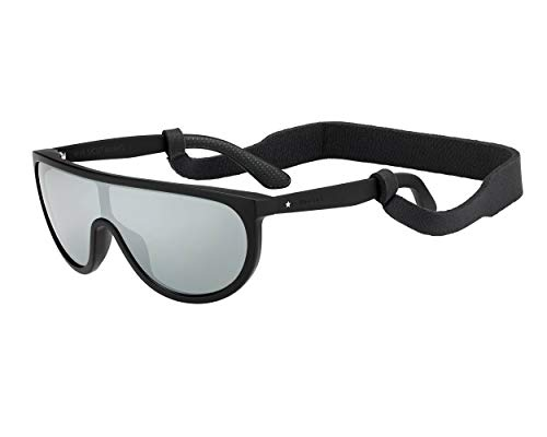 Jimmy Choo Sonnenbrillen (HUGO-S 003T4) schwarz matt - grau - silber verspiegelt