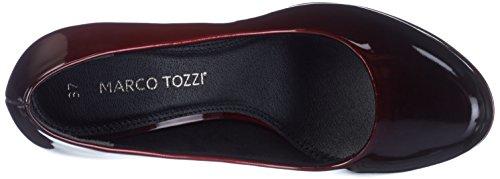 Marco Tozzi 22410, Scarpe con Tacco Donna Rosso (Merlot Patcom)