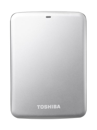 Toshiba Canvio Connect externe Festplatte 2 TB 6,4 cm (2,5 Zoll) USB 3.0 silber