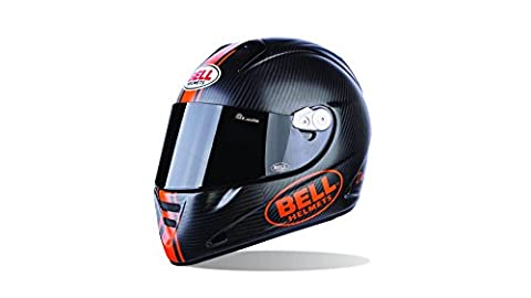 Bell Helmets 7050651 Street 2015 M5X Carbon Adult Helmet, Daytona Matte Orange, Medium