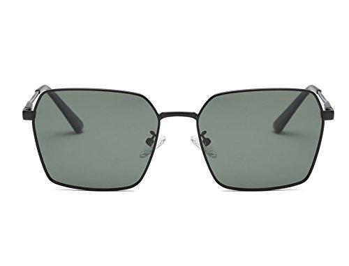 Nhdz Männliche Und Weibliche Paare Polarisierte Intelligente Farbe Ändern Sonnenbrille Hellen Hd Durch Die Brille Der Mode Sonnenbrille Professionellen Fahrer Rückspiegel Können Kurzsichtigkeit Schwarzen Rahmen Dunkelgrün, Schwarzen Rahmen Dunkelgrün