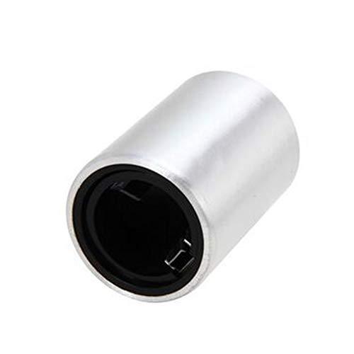 1 Packung Magnetic Push Down Flaschenöffner, Kreative Bier Key Opener Keychain, Silber -