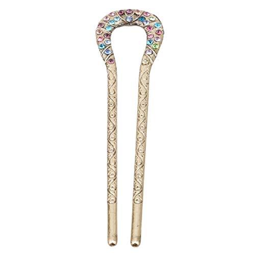 Haar-styling-stick (Retro Haarspange Damen Haar Pin Styling Stick Vintage Stil, Haarnadel Chignon Pin Zubehör Frauen, Bunte Nützliche und Praktische)