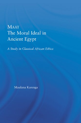 Maat, The Moral Ideal in Ancient Egypt: A Study in Classical African Ethics (African Studies) Descargar Epub Gratis