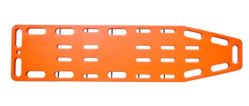Nutwell Spineboard, zum Patiententransport, 182,5x45x4,5cm, Orange