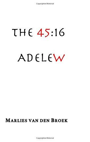 The 45:16 Adele W par Marlies Van Den Broek