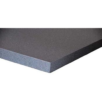 schaumstoff platten set 6 st ck a 50 x 50 x 3 cm polyurethan gem ko tex anthrazit. Black Bedroom Furniture Sets. Home Design Ideas