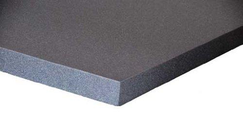 Schaumstoff Platten Set 4 Stück a 50 x 50 x 5 cm Polyurethan gem.Öko Tex St.100 anthrazit