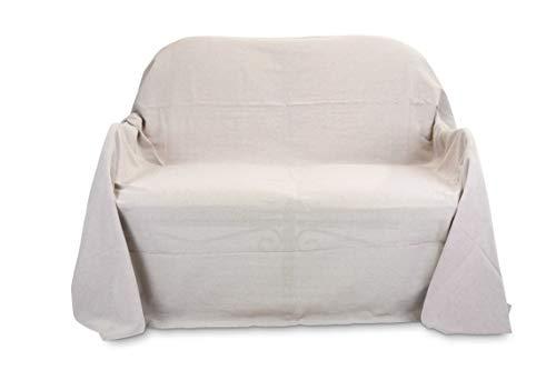 HomeLife - Tela Decorativa para sofá de Color Liso - Sábana Bajera...