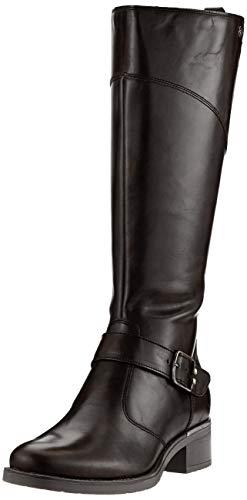 Tamaris Damen 1-1-25553-23 Hohe Stiefel, Schwarz (Black 1), 41 EU