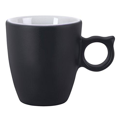 DEGRENNE - Coffret de 2 Tasses Espresso Smoos 2.0 Illusions - Anthracite