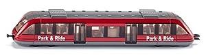 Siku 1646 Park & Ride -Tren de cercanías miniatura (escala 1:55), colores surtidos