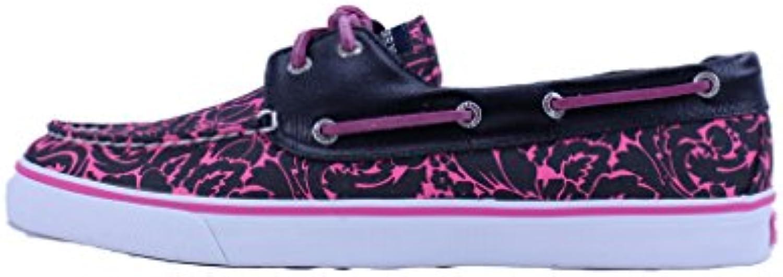 Sperry Zapatillas de Lona Para Mujer Multicolor Black/Pink/Floral