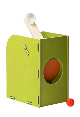 pedalo Wurfschleuder aus Holz für Spiel und Spaß bei Kindern und Erwachsenen