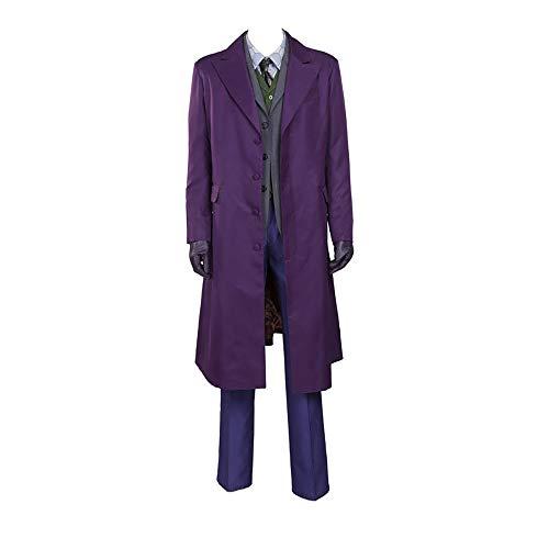 Glam Cosplay-Kostüm The Black Knight, Joker Male - Violett - XX-Small