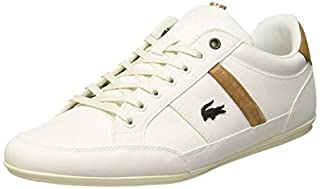 Lacoste Men's Chaymon 119 5 CMA Trainers, Off-White (Off Wht/Lt BRW 2r2), 9.5 UK (B07DJ4LVNG) | Amazon price tracker / tracking, Amazon price history charts, Amazon price watches, Amazon price drop alerts