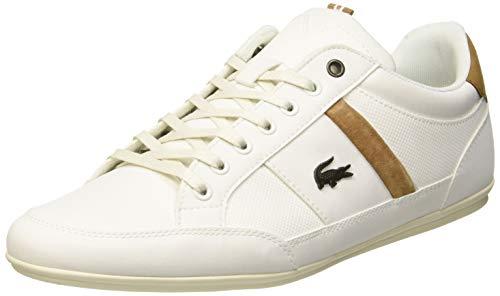 Lacoste Herren Chaymon 119 5 CMA Sneaker Elfenbein (Off Wht/Lt BRW 2r2) 42 EU