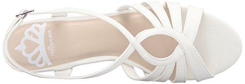 Fergalicious Roxine Leder Keilabsätze Sandale White EYTh1