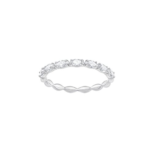 Swarovski Vittore Marquise Ring, weiss, rhodiniert