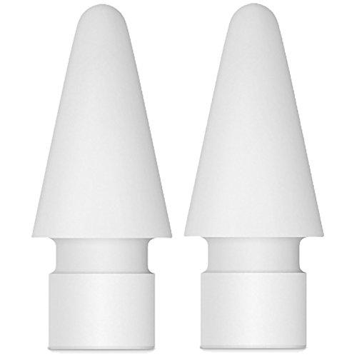 sciuU Puntas de lápiz de Apple iPad Pro - [Pack de 2] Puntas de lápiz de Apple Puntas de iPencil con Mini Case para iPad Pro Apple Pencil
