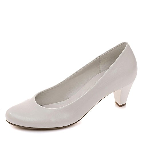 Gabor Damen Fashion Pumps Platin