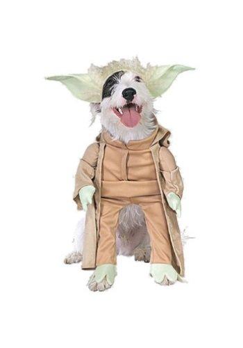 Yoda Hunde Kostüm - Yoda TM-Kostüm für Hunde