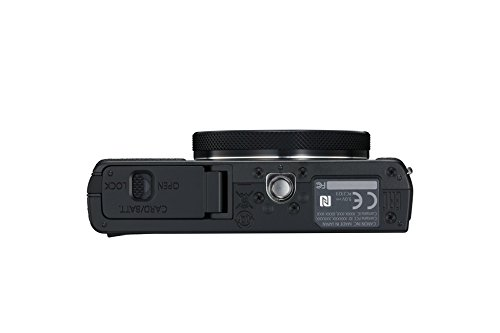 "Canon PowerShot G9 X Mark II - Cámara compacta de 20.9 MP (Pantalla táctil de 3"", vídeo Full HD, CMOS, Intelligent IS, Digic 7, Bluetooth) Negro"
