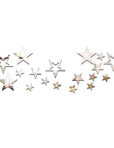 stickers-muraux-de-bricolage-toiles-miroir-stro-un-ensemble-de-19-silver-yuxin
