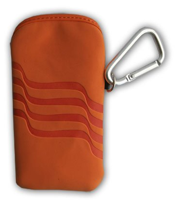 Tasche, Handy Hülle, Bag, Smartphone Schutzhülle - Rubber Case - für HTC Sensation XE, Windows Phone 8S / Nokia Lumia 820, Lumia 520, 808 Pureview / Fairphone First Edition / ZTE Grand X IN / Huawei Ascend W1, Y300 - Farbe: Orange