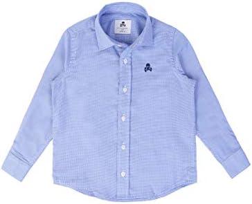 Scalpers Siena Shirt Kids - Camisa para niño, Talla 6, Color Azul