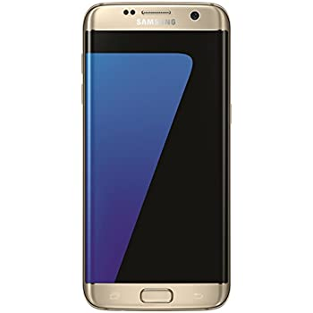 "Samsung Galaxy S7 Edge, Smartphone libre (5.5"", 4GB RAM, 32GB, 12MP/Versión alemana: No incluye Samsung Pay ni acceso a promociones Samsung Members), color Oro"